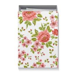 """Коробка для футболок """"Цветы"""" - розы, цветы"""
