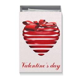 """Коробка для футболок """"3d сердце"""" - день святого валентина, 14 февраля, ко дню влюбленных, valentine's day, день влюбленных"""