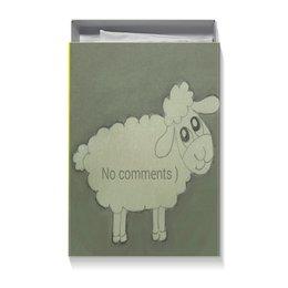 """Коробка для футболок """"Подарочная Овечка"""" - прикольная, овечка, без комментариев, бедная"""