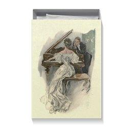 """Коробка для футболок """"Музыкальный момент"""" - день святого валентина, 14 февраля, 8 марта, valentine's day, день влюбленных"""