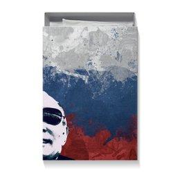 "Коробка для футболок ""Путин"" - очки, патриот, флаг, путин, putin"