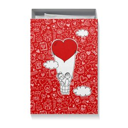 "Коробка для футболок ""С днем святого валентина"" - день святого валентина, любимой"