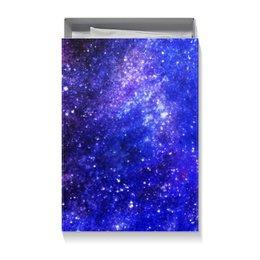 """Коробка для футболок """"Космос"""" - звезды, космос, вселенная, cosmos, космический дизайн"""