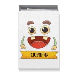 """Коробка для футболок """"Сюрприз"""" - юмор, подарок, сюрприз, смешной, праздничный"""