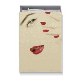 """Коробка для футболок """"Подруге"""" - девушка, день святого валентина, 8 марта, подарок, минимализм"""