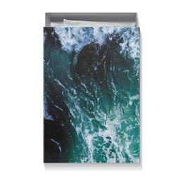 """Коробка для футболок """"Бескрайнее море"""" - лето, море, storm, шторм, буря"""