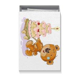 """Коробка для футболок """"Мишка Тэдди"""" - медвежонок, игрушка, праздничный, подарочный, мишка тэдди"""