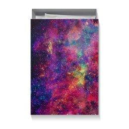 """Коробка для футболок """"Космос"""" - space, stars, космос, cosmos, вселенные"""