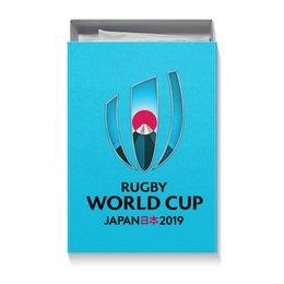 """Коробка для футболок """"Кубок Мира по регби в Японии"""" - спорт, регби, япония, регби 2019"""