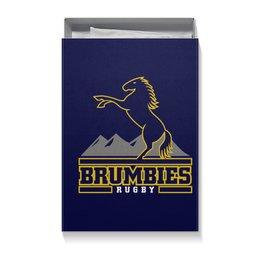 """Коробка для футболок """"«Брамбиз» регби"""" - спорт, регби"""