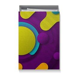 """Коробка для футболок """"Абстрактная"""" - узор, стиль, рисунок, орнамент, абстракция"""