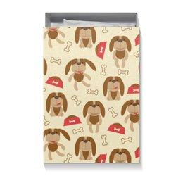 "Коробка для футболок ""Собачки"" - 2018, пёс, собака, год собаки, новый год"