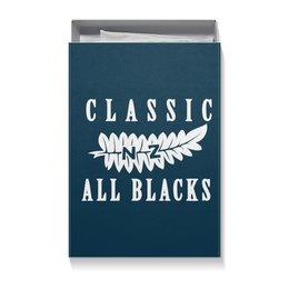 """Коробка для футболок """"All Blacks vintage"""" - спорт, ретро, классика, винтаж, олл блэкс"""