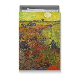 """Коробка для футболок """"Винсент ван Гог"""" - винсент ван гог"""