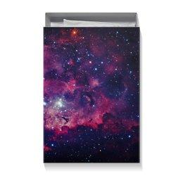 """Коробка для футболок """"Космос"""" - звезды, космос"""
