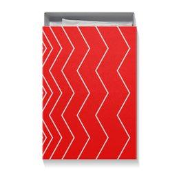 """Коробка для футболок """"Вибрация, с выбором цвета"""" - волна, абстракция, волны, линии, вибрация"""