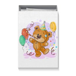 """Коробка для футболок """"Мишка Тэдди"""" - мишка тэдди, медвежонок, игрушка, праздничный, подарочный"""