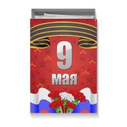 """Коробка для футболок """"9 мая"""" - 9 мая, день победы"""