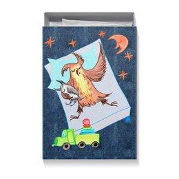 """Коробка для футболок """"Сова Ульяна. Сладкие сны"""" - сладкие сны, сова ульяна, семья и дети"""