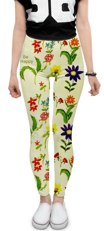 Леггинсы Printio Цветы тропиков