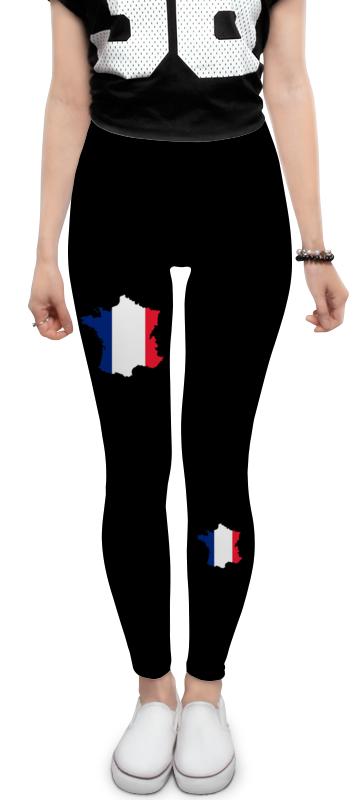 купить Леггинсы Printio Флаг франции
