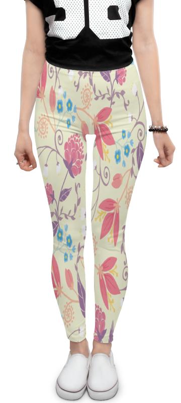 Леггинсы Printio Весенние цветочки цены онлайн
