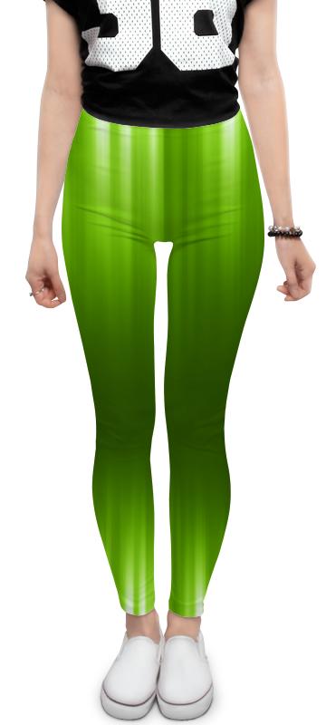 Леггинсы Printio Зелёный фон