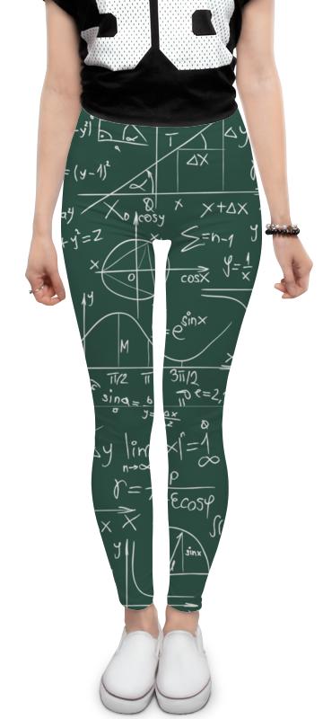 Леггинсы Printio Математика математика