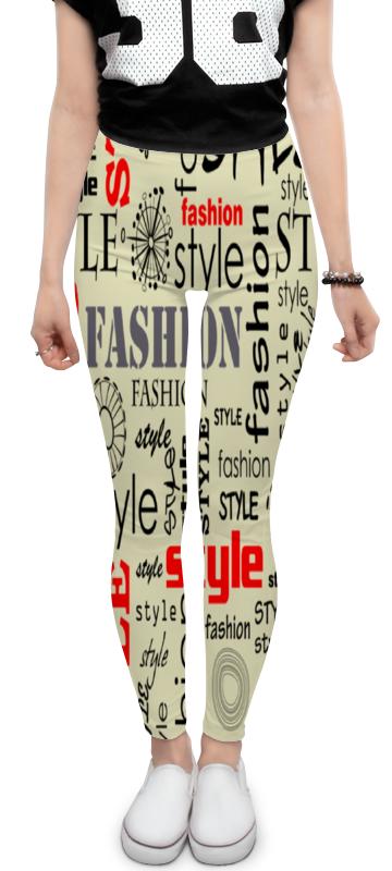 Леггинсы Printio Fashion style fashion style