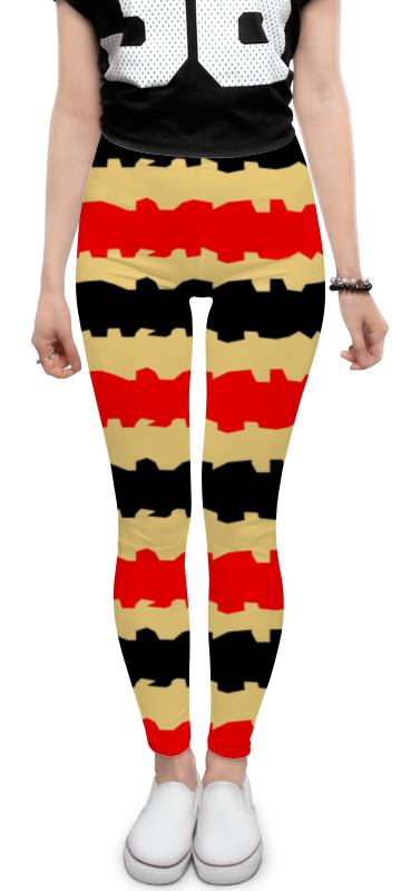 Леггинсы Printio Полоски с рванными краями футболка с полной запечаткой женская printio полоски с рванными краями