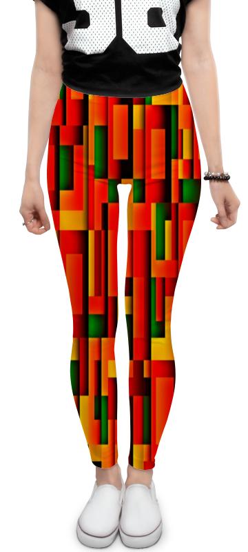 Леггинсы Printio Кубики