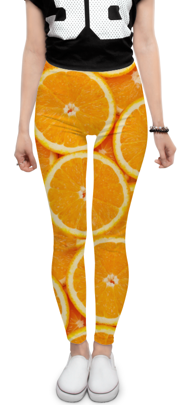 Леггинсы Printio Orange леггинсы printio иллюзиячулки и шортики ожурные