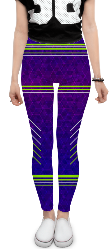 Леггинсы Printio Purple fit леггинсы