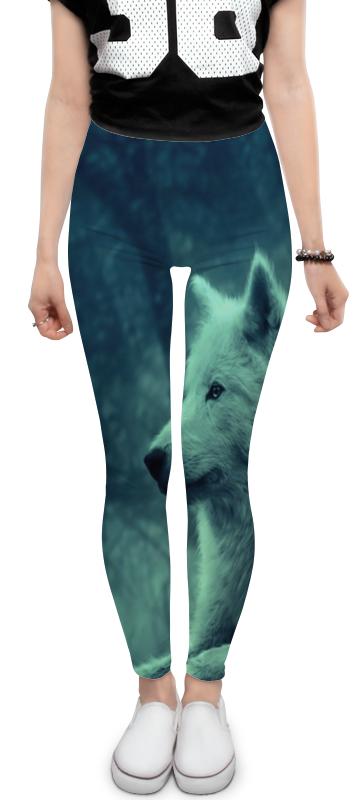 Леггинсы Printio North star - волк