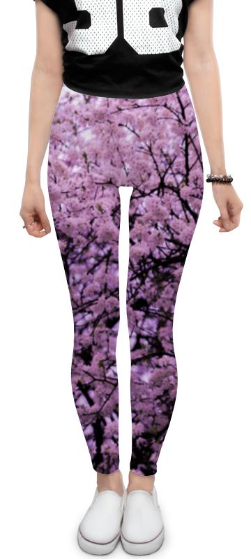 Леггинсы Printio Цветы