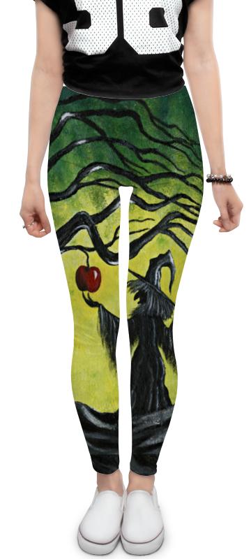 Леггинсы Printio Заколдованное яблоко леггинсы для девушек