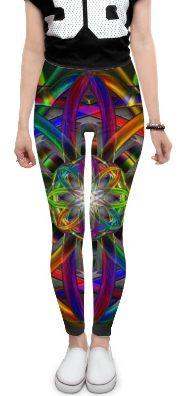 Леггинсы Printio Rainbow dimensions