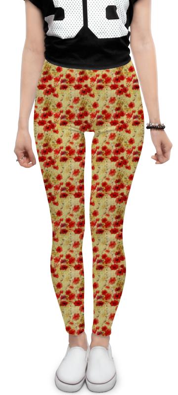 Леггинсы Printio Цветочный винтаж леггинсы для девушек