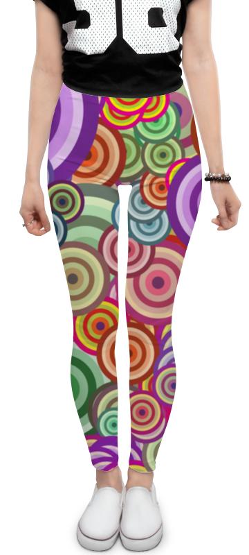 Леггинсы Printio Цветные круги