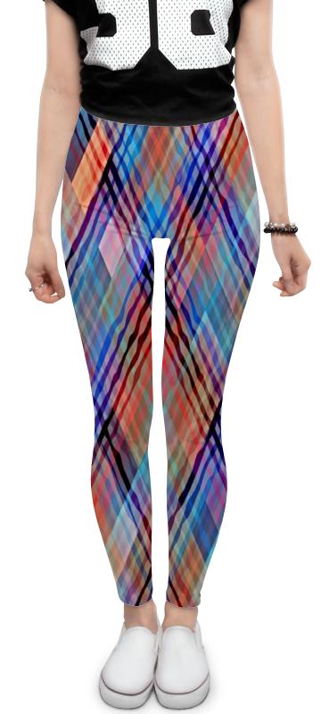 Леггинсы Printio Цветные волны леггинсы printio леггинсы радужные волны