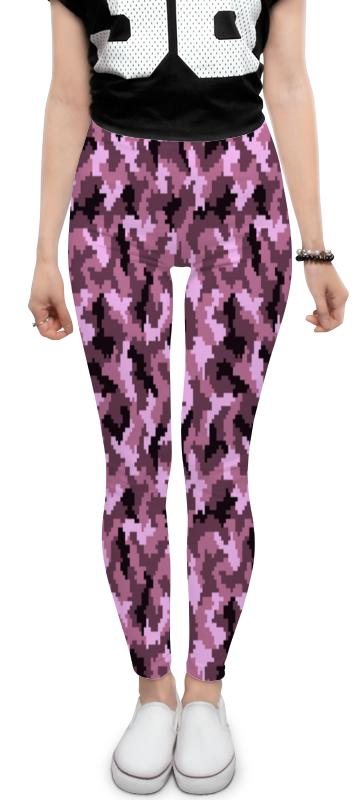 Леггинсы Printio Розовые пиксели леггинсы printio розовые свинки