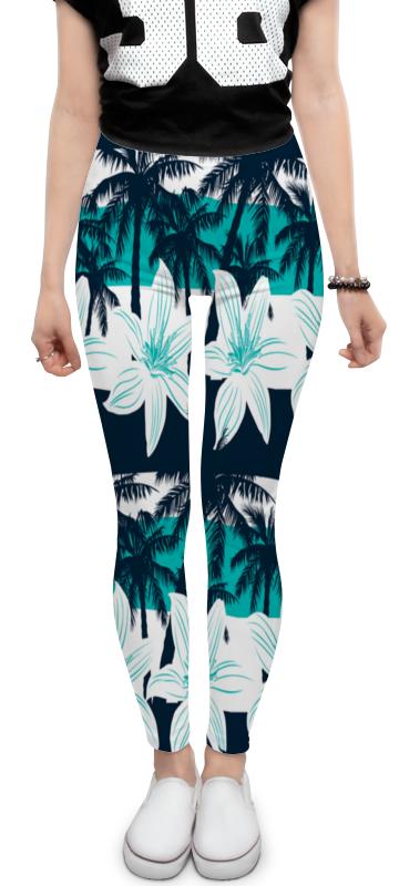 Фото - Леггинсы Printio Тропические цветы юбка карандаш укороченная printio тропические цветы