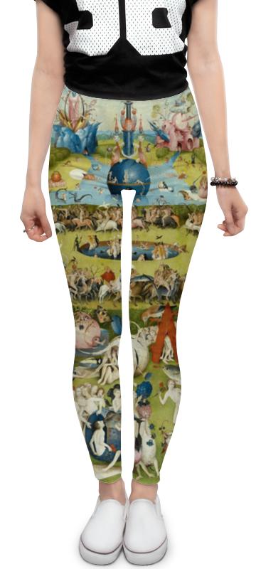 Леггинсы Printio Сад земных наслаждений юбка в складку printio сад земных наслаждений