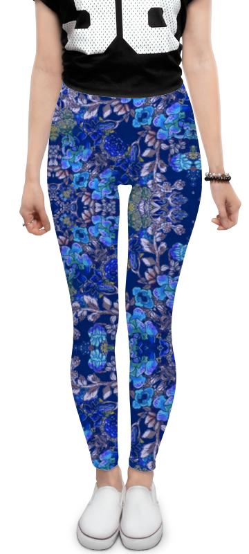 Леггинсы Printio Красивый растительный цветочный орнамент, паттерн плакат a3 29 7x42 printio яркий красивый модный гелакси дизайн паттерн