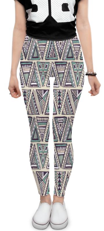 Леггинсы Printio Треугольники юбка карандаш printio треугольники