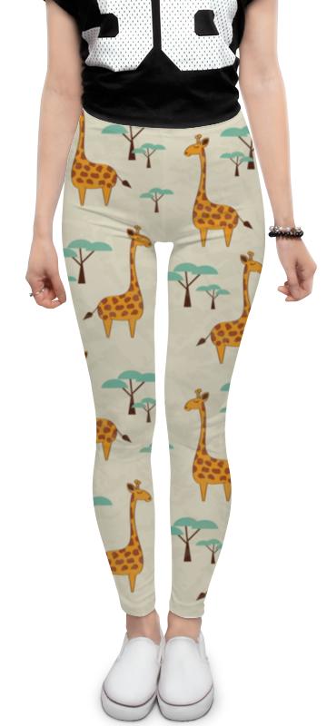 Леггинсы Printio Жирафы ahura 06фигура жирафы