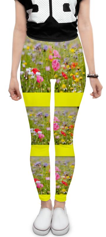 Леггинсы Printio Цветочный рай букет из конфет цветочный рай