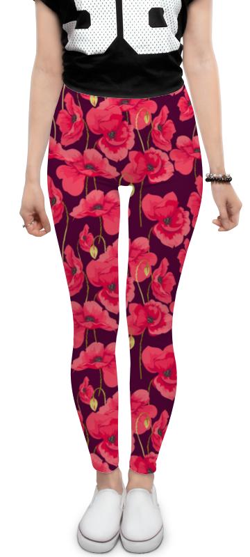 Леггинсы Printio Весенние цветы цены онлайн
