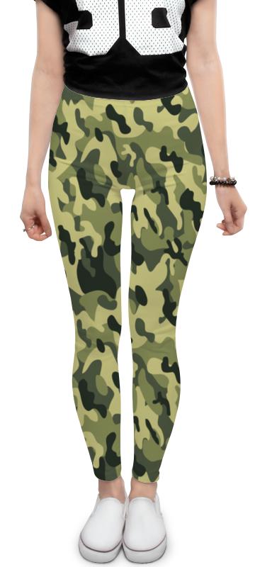 Леггинсы Printio Хаки защита для военных для служащих. леггинсы для девушек