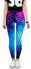 "Леггинсы ""Abstract Disco"" - цвета, краски, абстракция"